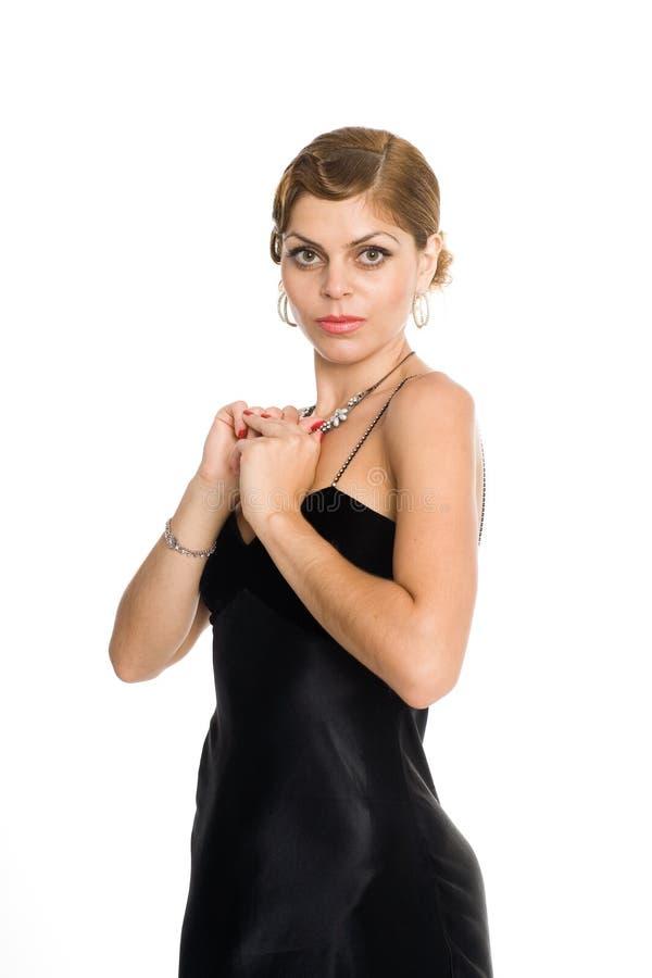 Jeune femme attirante photographie stock