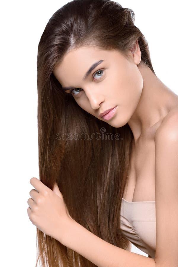 Jeune femme avec du charme photos stock