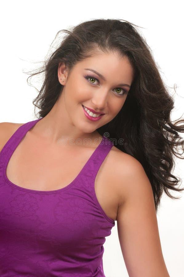 Jeune femme convenable photo stock