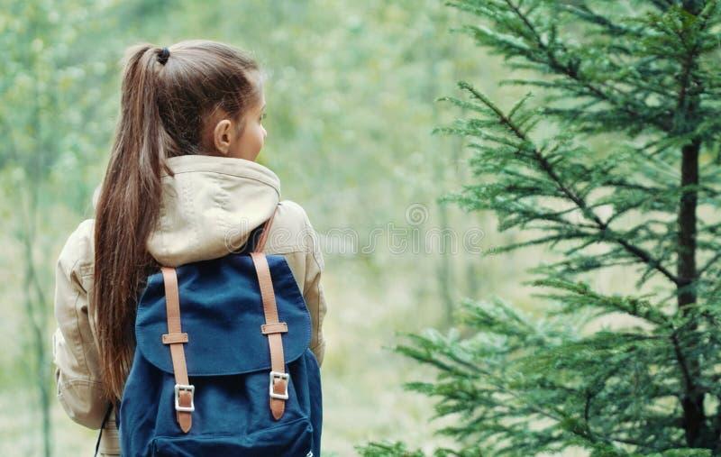 Download Jeune Femme Découvrant La Nature Dans La Forêt, Mode De Vie C De  Voyage