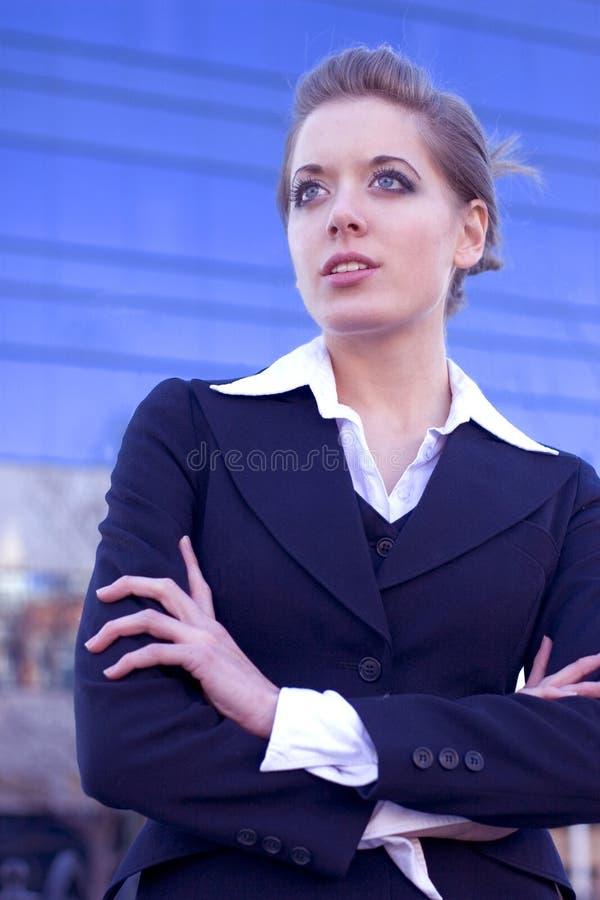 Jeune femme d'affaires photos libres de droits