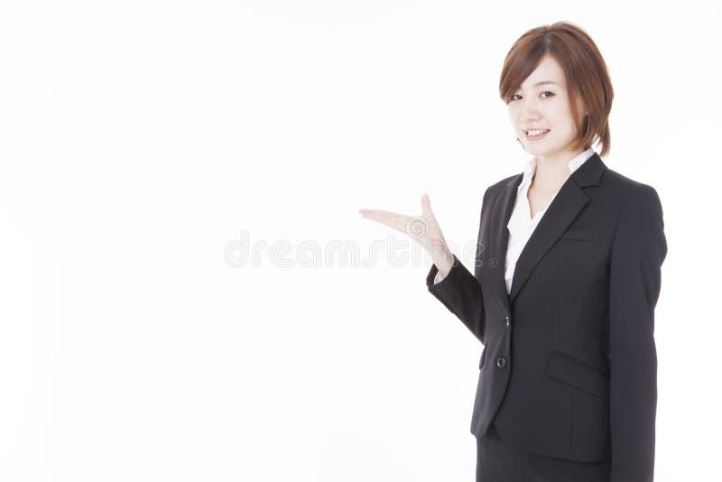 Jeune femme d'affaires photographie stock libre de droits