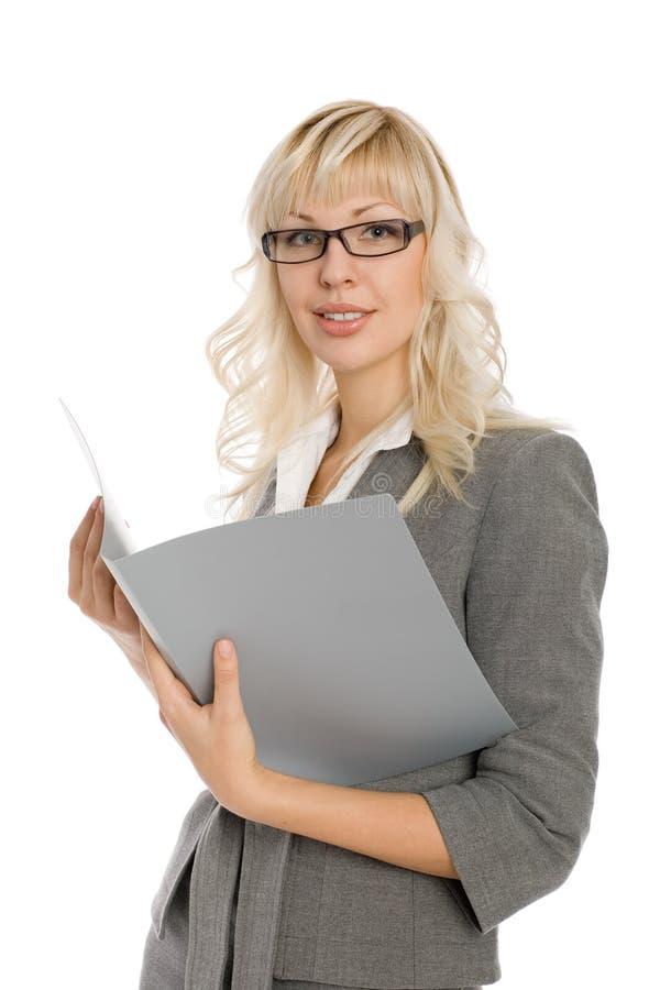 Jeune femme d'affaires attirante photos libres de droits