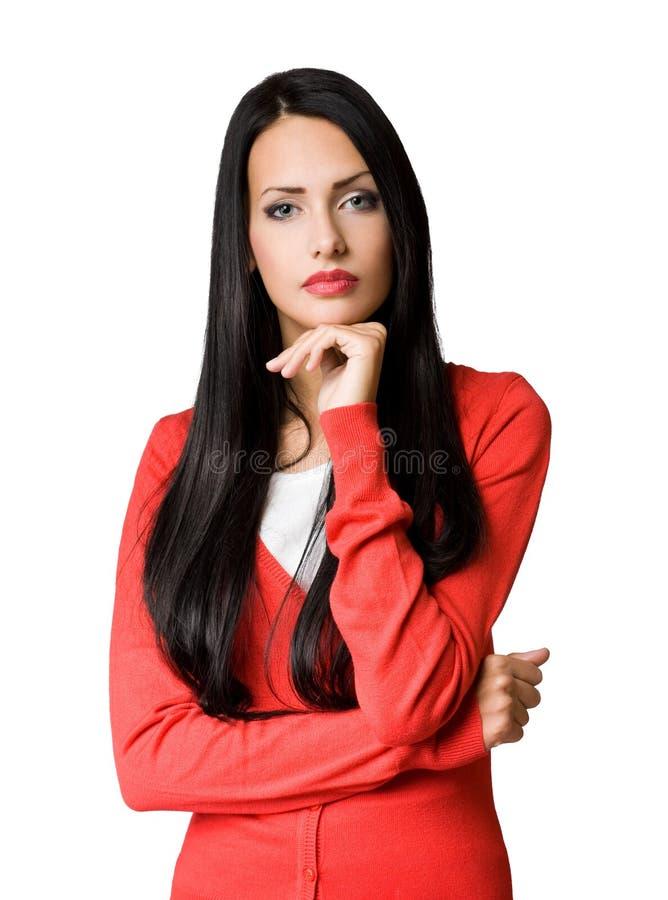 Jeune femme d'affaires de Gorgeosu. images stock