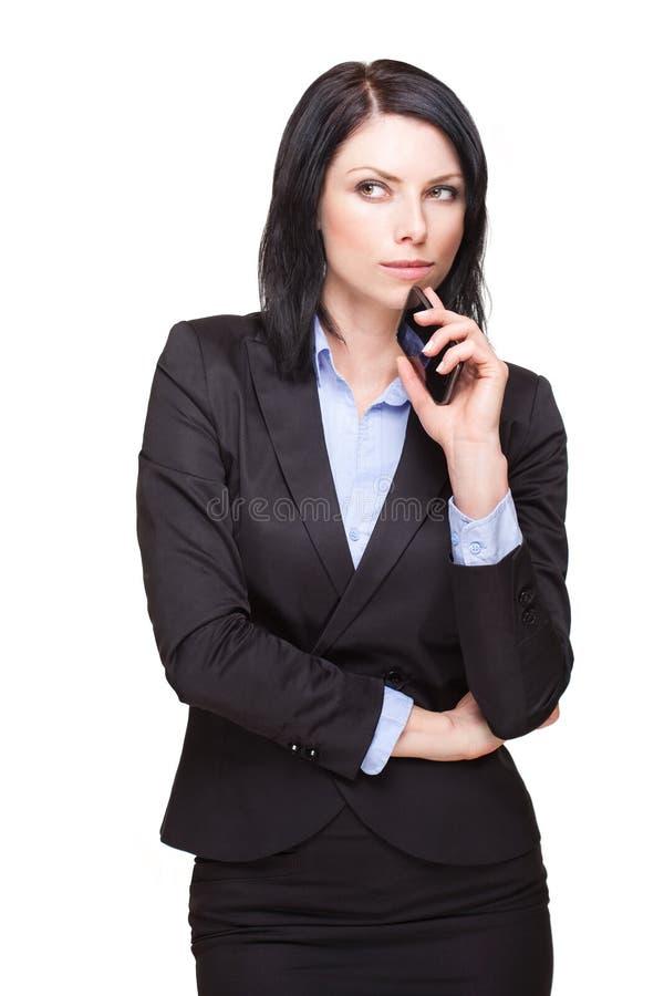 Jeune femme d'affaires fraîche. image stock