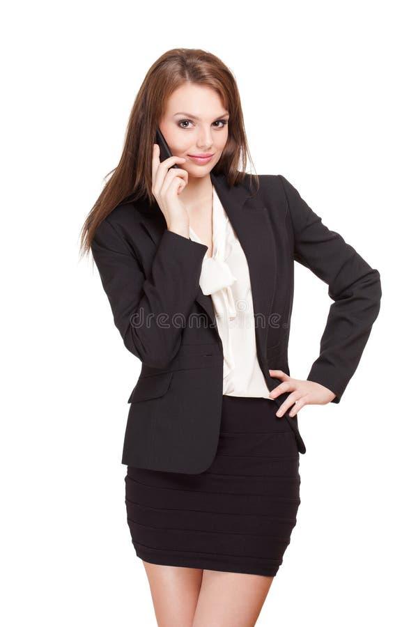 Jeune femme d'affaires fraîche. photos stock
