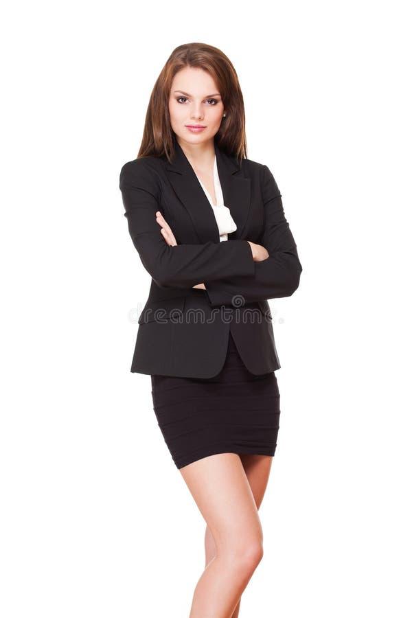 Jeune femme d'affaires fraîche. photographie stock