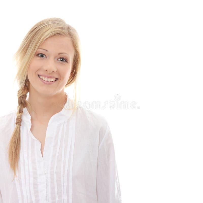 Jeune femme de matin photographie stock libre de droits