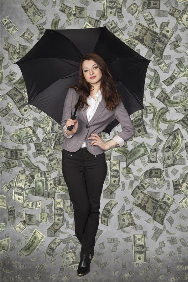 Jeune femme de milliardaire photos libres de droits