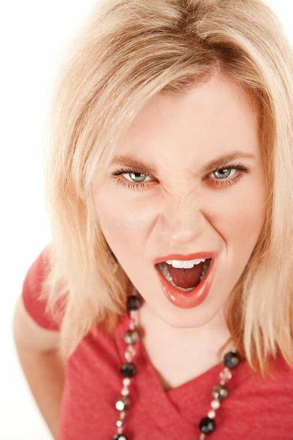 Jeune femme exaspérée photo libre de droits