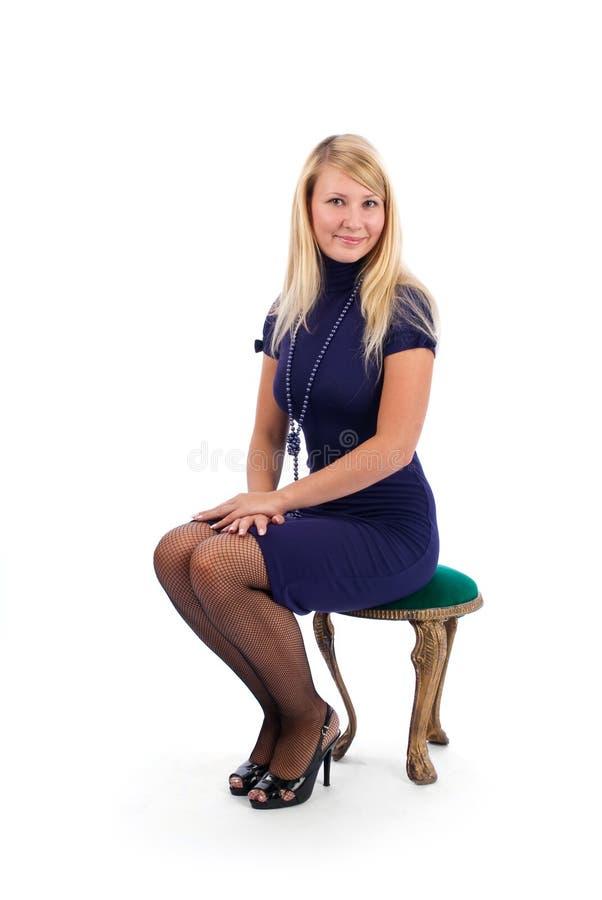 Jeune femme heureuse image libre de droits