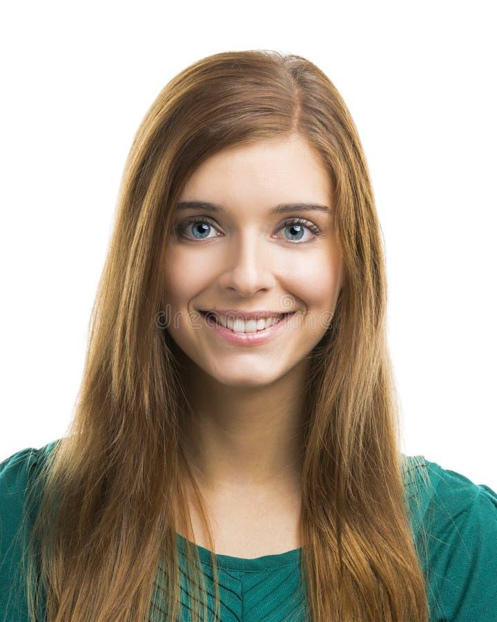 Jeune femme heureuse photos libres de droits