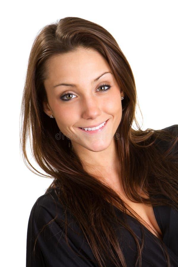 Jeune femme heureuse d'affaires images libres de droits