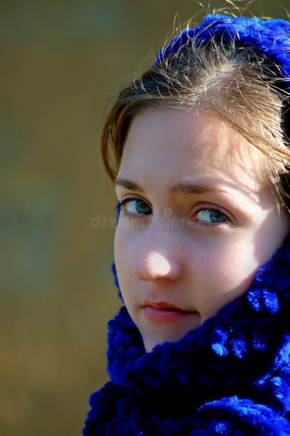 Jeune femme Melancholic photo libre de droits