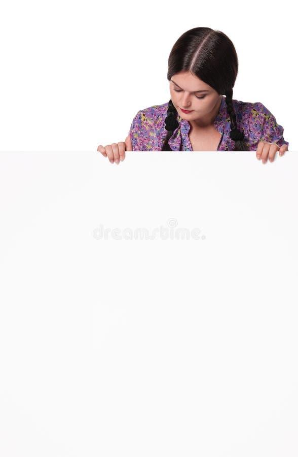 Jeune femme mignonne image libre de droits