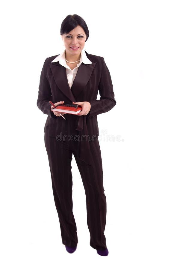 Jeune femme réussie d'affaires images stock