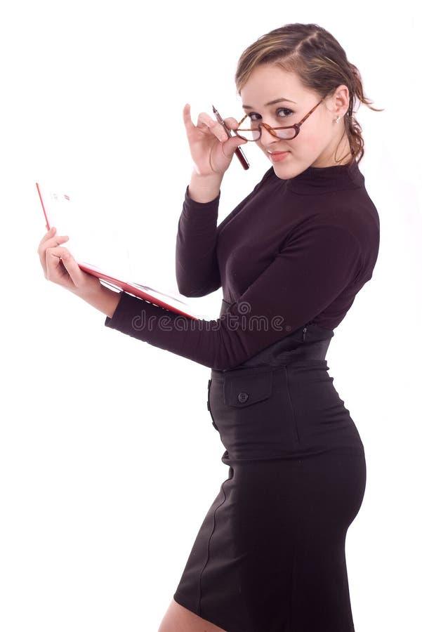 Jeune femme réussie d'affaires photos stock