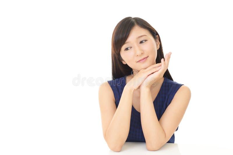 Jeune femme Relaxed photos stock