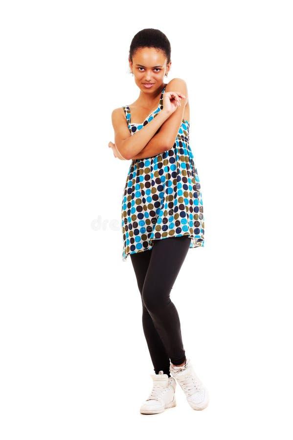 Jeune femme souriante images libres de droits