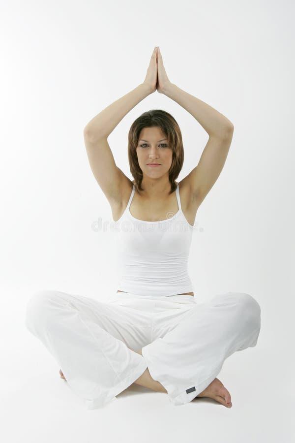 Jeune femme spirituelle images libres de droits