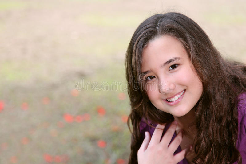 Jeune fille photo libre de droits