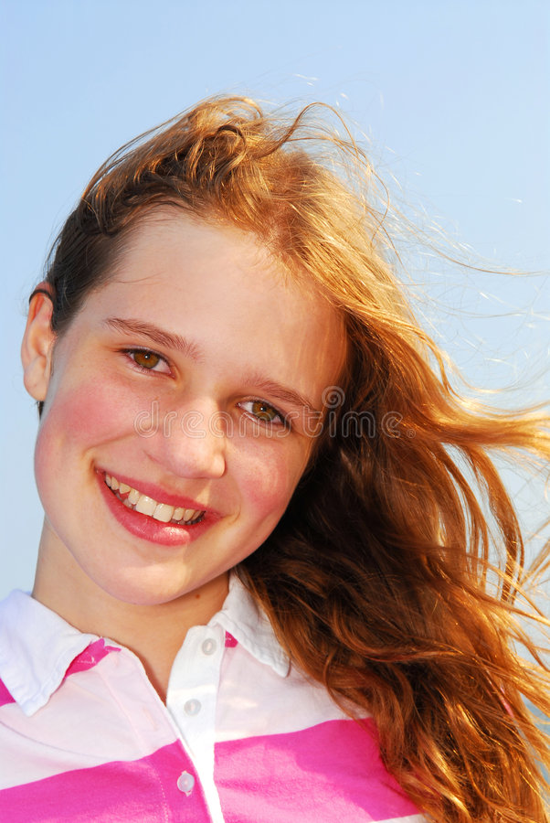 Jeune fille images stock