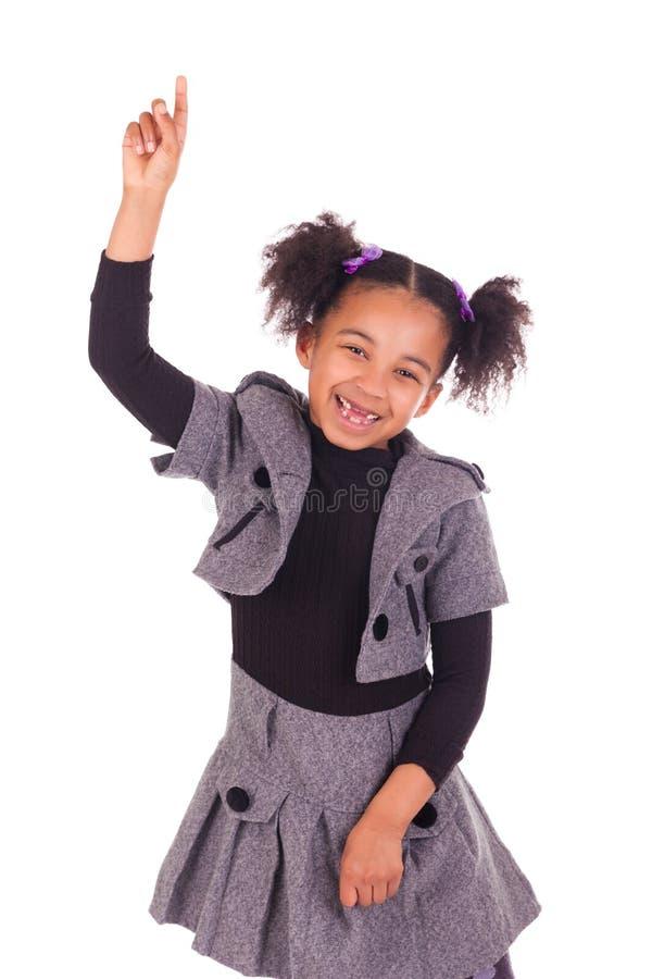 Jeune fille africaine sans dents photos stock