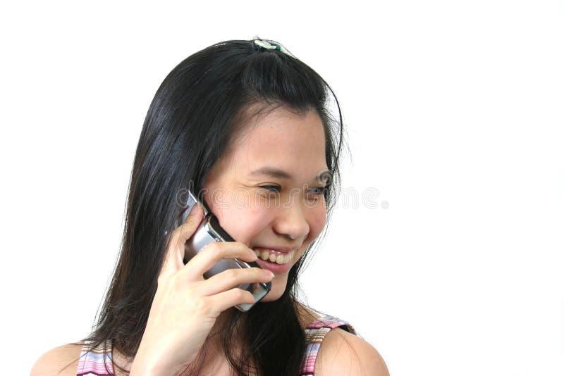 Jeune fille asiatique normale 11 images stock