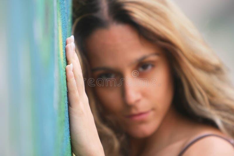 Jeune fille belle photographie stock