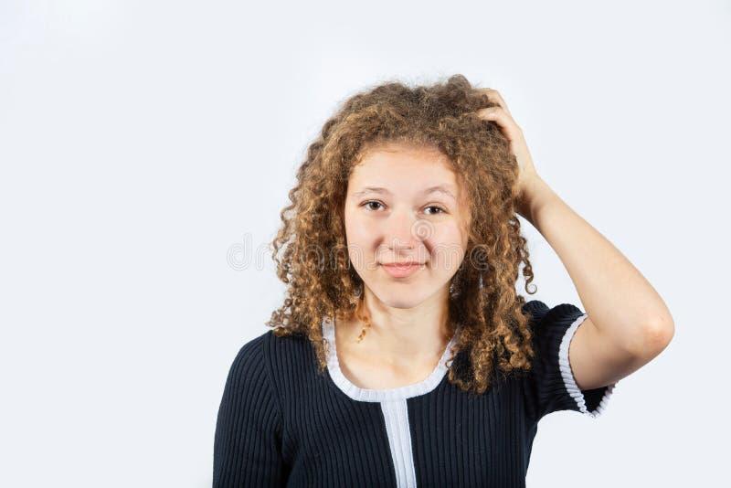 Jeune fille confuse photo libre de droits