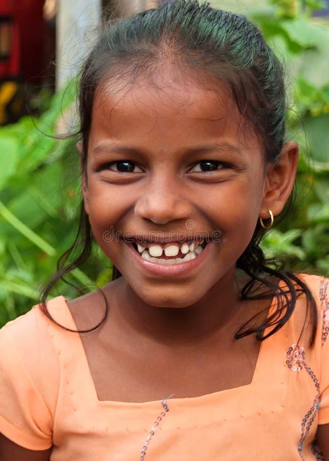 Jeune fille dans Goa photos stock