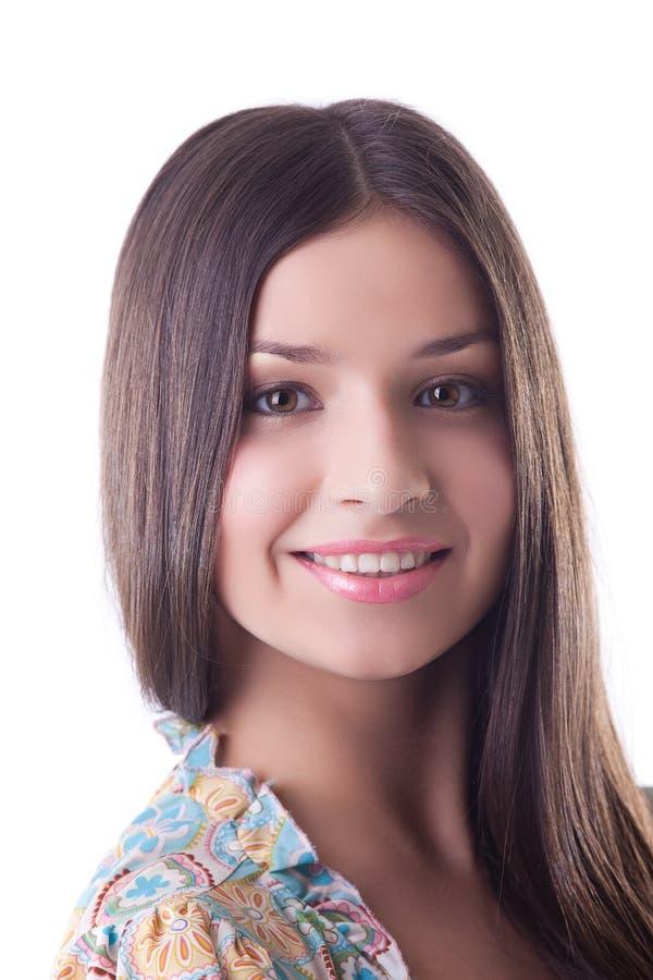Jeune fille dans le costume russe traditionnel image stock