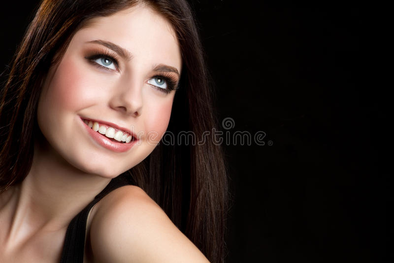 Jeune fille de sourire photos libres de droits