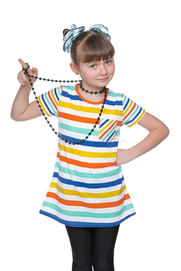 Jeune fille drôle images libres de droits