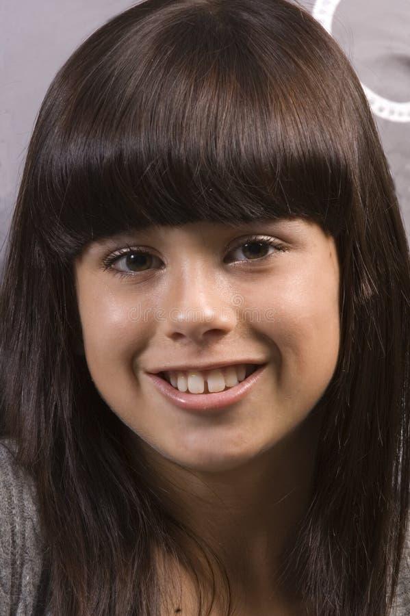 Jeune fille mignonne image libre de droits