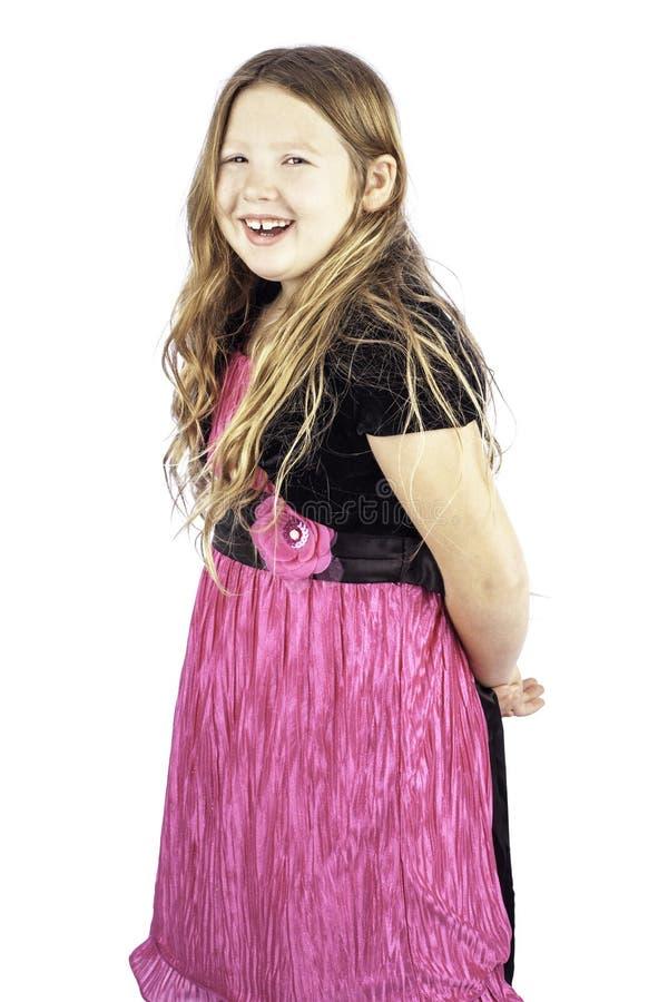 Jeune fille riante heureuse photo libre de droits