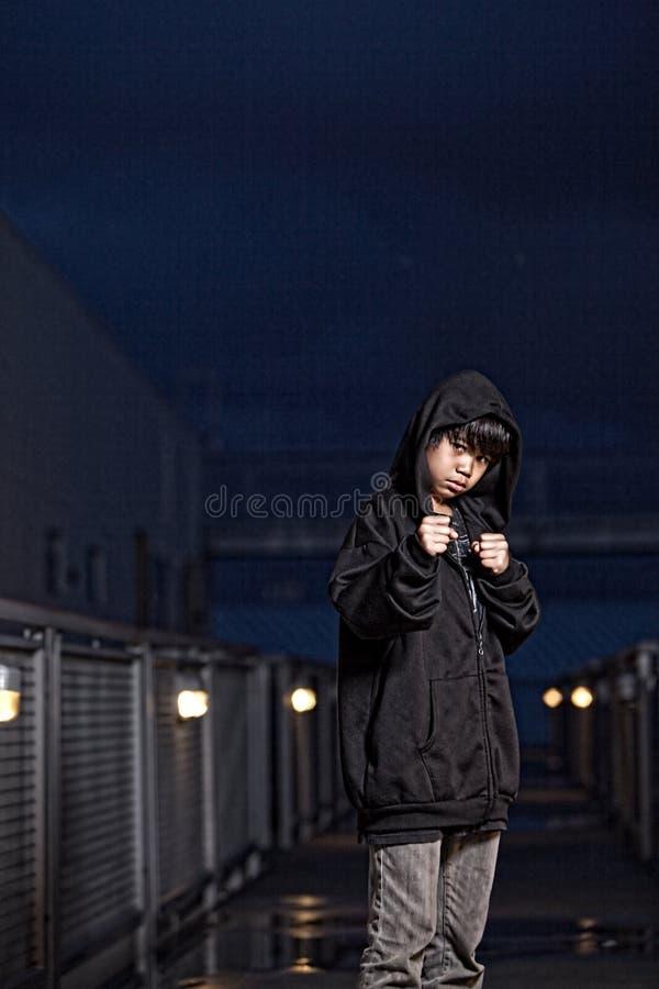 Jeune garçon de la préadolescence asiatique image libre de droits