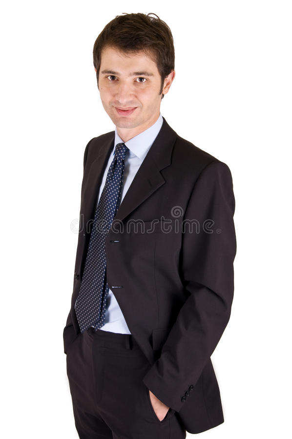 Jeune gestionnaire Relaxed image stock