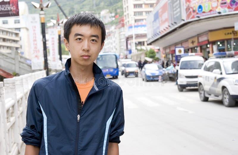 Jeune homme asiatique photo libre de droits