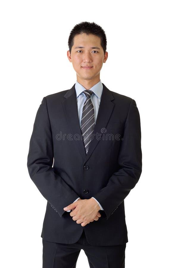 Jeune homme asiatique d'affaires photos libres de droits
