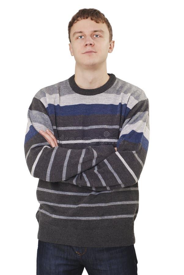 Jeune homme bel photo libre de droits
