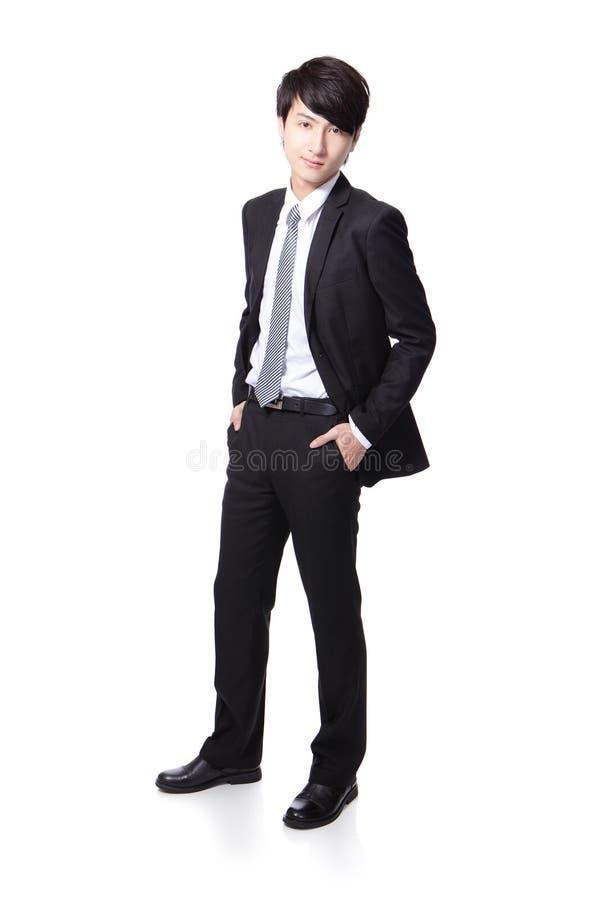 Jeune homme bel d'affaires photos stock