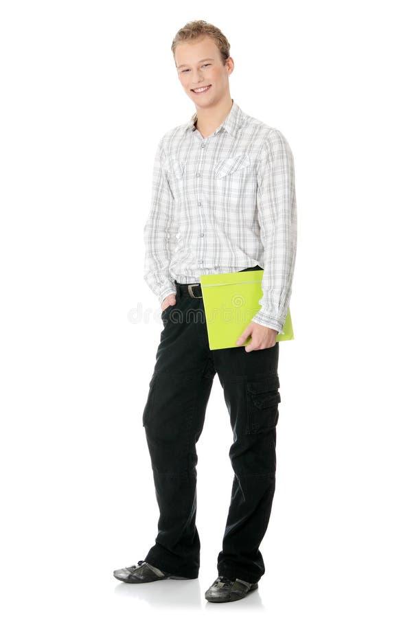 Jeune homme bel heureux d'étudiant photos libres de droits