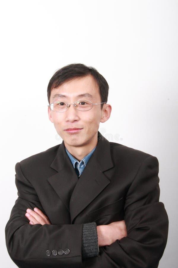 Jeune homme chinois photo stock
