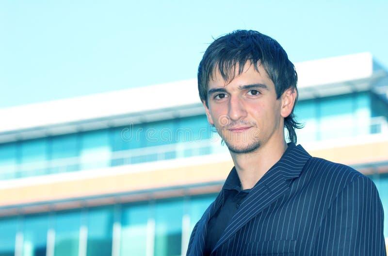Jeune homme d'affaires photo libre de droits