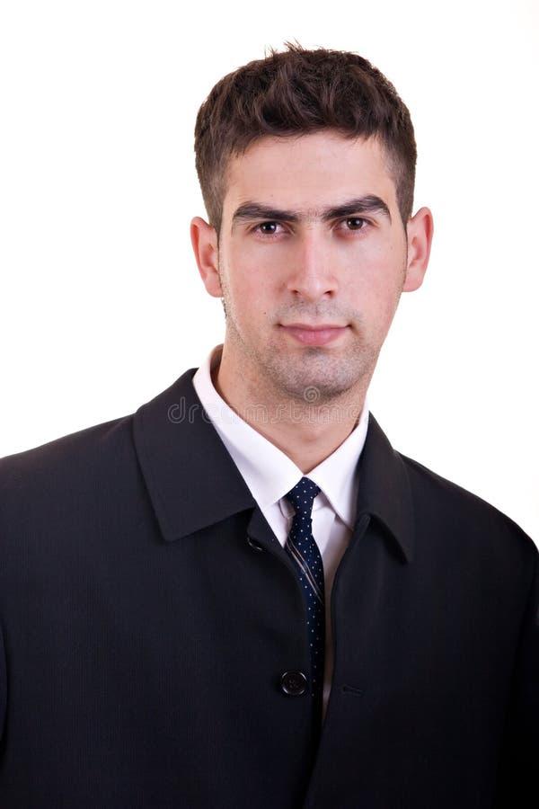 Jeune homme d'affaires photos stock