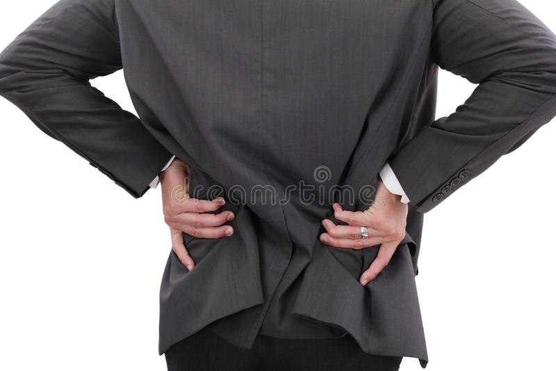 Douleur de prostate photos libres de droits