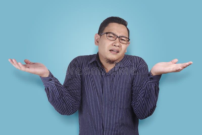 Jeune homme d'affaires Indifferent Gesture photos libres de droits