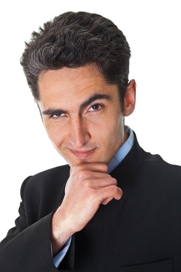 Jeune homme d'affaires réussi. image libre de droits