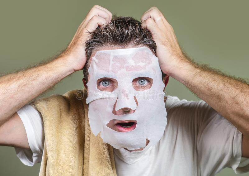 masque facial homme
